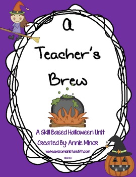 A Teacher's Brew: A Skill Based Halloween Unit