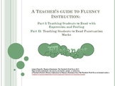 A Teacher's Guide to Fluency Instruction Part I & II RF.1.4b  and RF.2.4b