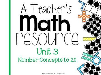 A Teacher's Math Resource Unit 3 Number Concepts to 20