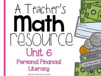 A Teacher's Math Resource Unit 6 Personal Financial Literacy