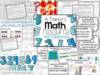 A Teacher's Math Resource Units 1-3 Bundle