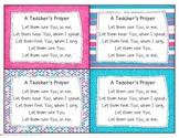 A Teacher's Prayer - Let Them See You Lyrics