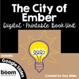 The City of Ember Novel Study: Digital + Printable Book Unit