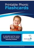 A Teacher's Toolkit of Printable Phonic Flashcards