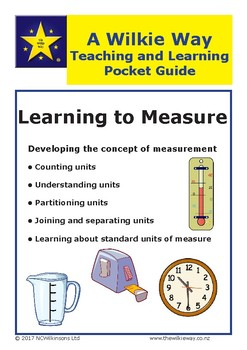 A Teaching & Learning Pocket Guide: Learning to Measure