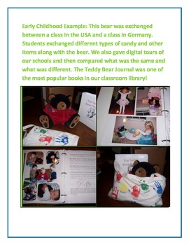 A Teddy Bear Who Travels the World: A Global Project for Young Learners