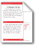 A Telescope in the Sky (Gr. 2/Week 29)