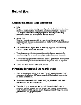A Template for Starting a School Newspaper