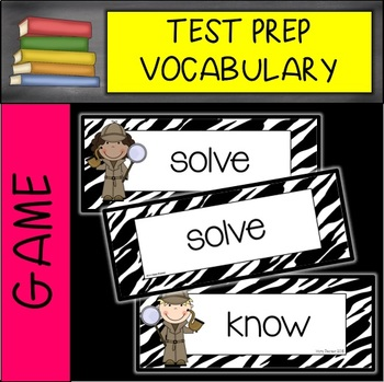 Test Prep Vocabulary Musical Chairs Game