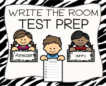 Test Prep Write the Room