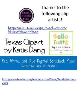 A Texas Pledge Choral Reading Activity