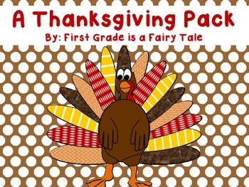 ELA and Math Thanksgiving Fun