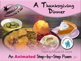 A Thanksgiving Dinner - Animated Step-by-Step Poem - SymStix