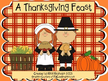 A Thanksgiving Feast: A Read, Write, Color and Draw Unit of Thanksgiving Foods