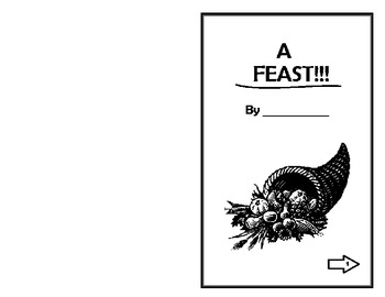 A Thanksgiving Feast Booklet- Free