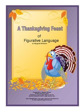 Figurative Language for November:  Simile, Metaphor, Hyperbole, Personification