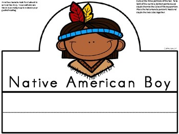 A+ Pilgrim and Native American Thanksgiving Hats