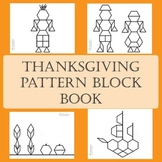 A Thanksgiving Pattern Blocks Book