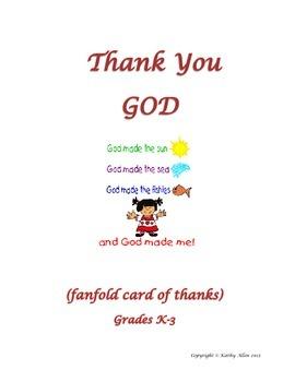 "A ""Thank You"" Card"