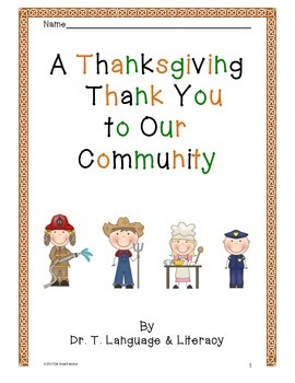 A Thanksgiving Thank You To Our Community