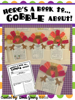 A Thanksgiving Themed Book Report