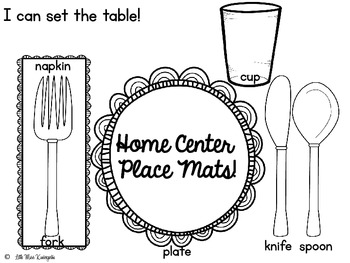 A Thanksgiving To Remember~Home Center Place Mat Freebie!