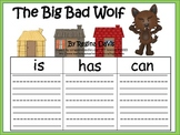 A+ The Big Bad Wolf from The Three Little Pigs: Graphic Organizers