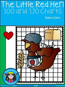 A+ The Little Red Hen: Numbers 100 and 120 Chart