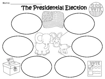 A+ The Presidential Election: Graphic Organizers