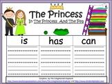 A+   The Princess And The Pea ... Three Graphic Organizers