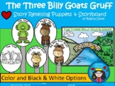 A+ The Three Billy Goats Gruff Storyboard and Characters