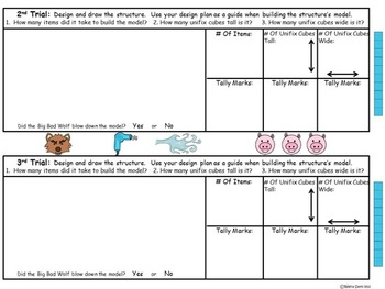 STEM Science, Technology, Engineering & Math Fairytales: The Three Little Pigs