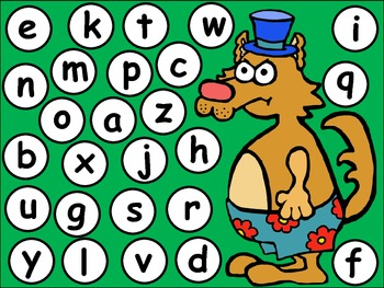 A+ The Big, Bad Wolf Lowercase Letter Practice