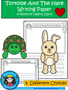 A+ The Tortoise And The Hare: Differentiated Writing Paper