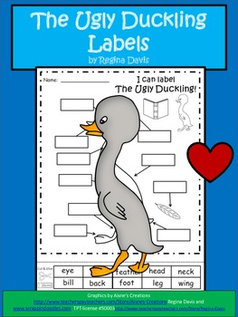 A+ The Ugly Duckling...Labels