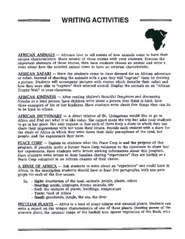 A Thematic Unit of Africa