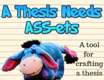 """A Thesis Needs """"ASSets"""": A Tool for Crafting a Thesis"""
