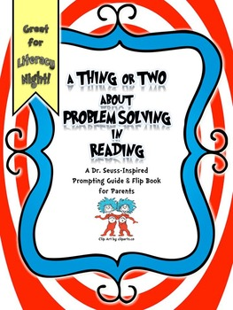 A Thing or Two About Problem Solving in Reading: A Prompti