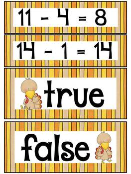 A Thoughtful Thanksgiving (Common Core aligned Math and Literacy activities)