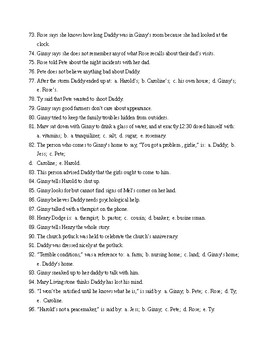 A Thousand Acres Books 2 and 3 Reading Check Test/Quiz