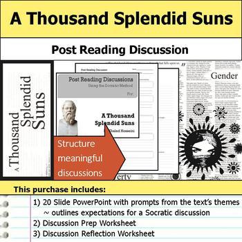 A Thousand Splendid Suns - Socratic Method - Post Reading Discussions