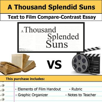 A Thousand Splendid Suns - Text to Film Essay