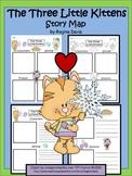 A+ Three Little Kittens: Blank Story Maps