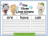 A+ Three Little Kittens... Three Graphic Organizers
