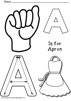 A Thru Z Uppercase Coloring Sheets