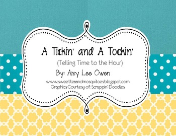 A Tickin' and a Tockin' (Telling Time to the Hour)