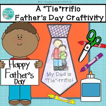 "A ""Tie""rrific Father's Day Craftivity"