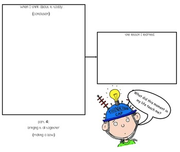 A Time I Was Worried- Graphic Organizer
