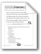 A Time Line (Sequencing)