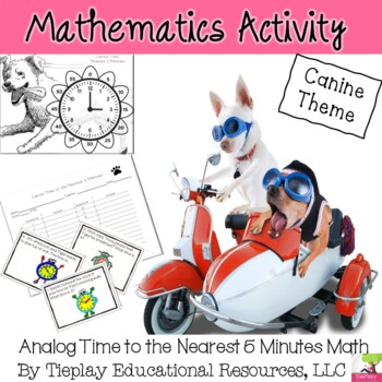 Analog Time to the Nearest Five Minutes